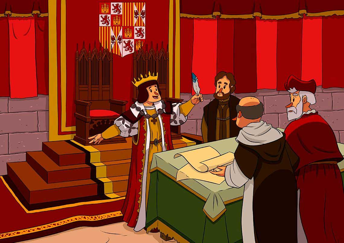 Firma Ferran el Catòlic